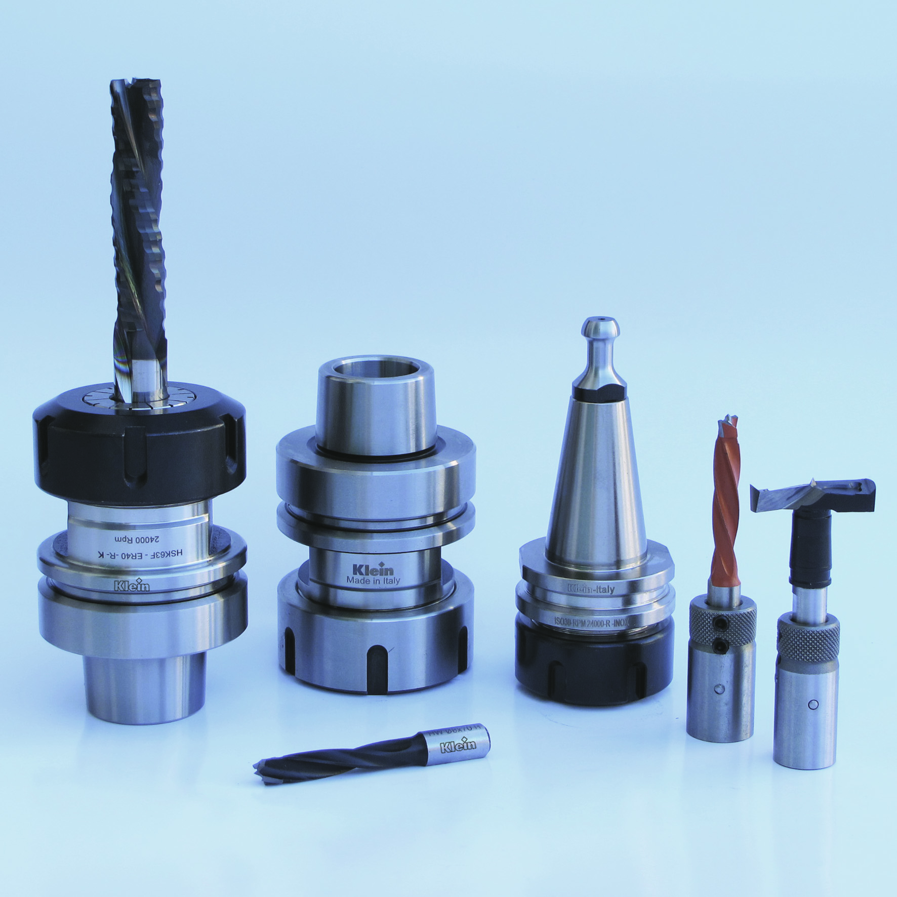 collet chucks, spring collets, clamping nuts, carbide bits, cnc automatic router