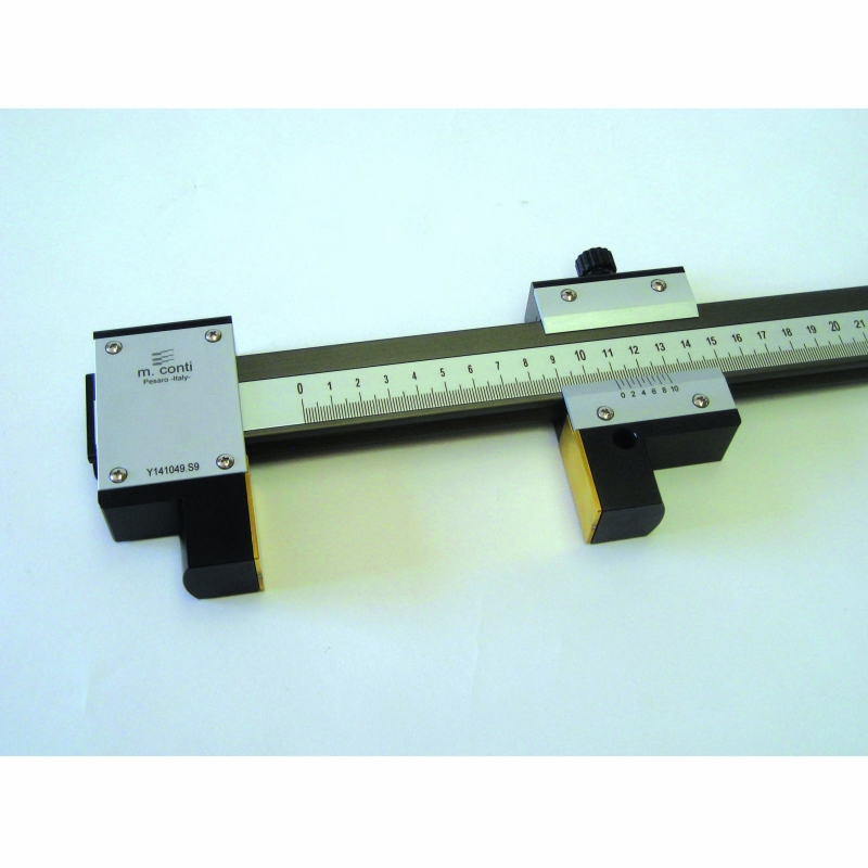 GAUGE FOR INSIDE/OUTSIDE MEASURING WITH STEEL PLATES