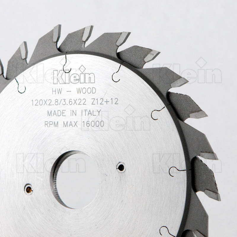 HW ADJUSTABLE SCORING SAW BLADES