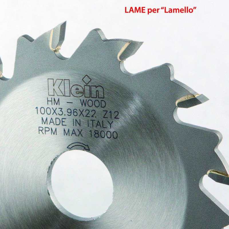 "HW GROOVING CUTTER FOR ""LAMELLO"""